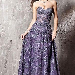 Jovani Floral Applique Women's Gown, Style 14913